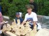 Мастер резьбы по дереву Андрей Алексин