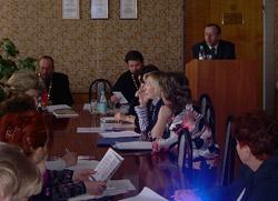 участники круглого стола - представители духовенства