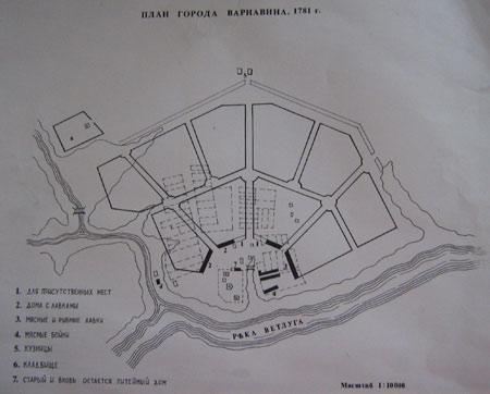 Исторический план Варнавино