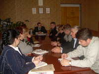 Заседание по поиску мощей св.прп. Варнавы Ветлужского