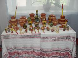 Выставка хохломы