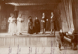 Постановка оперы на сцене Женской гимназии