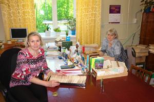 Работники Варнавинской библиотеки